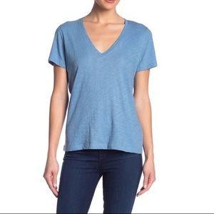 MADEWELL Short Sleeve V Neck Tee Shirt T-Shirt
